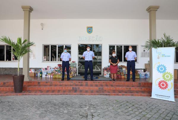 A campanha contou com a participação devárias Organizações Militares da Força Aérea Brasileira e visaajudar famílias vulneráveis da Zona Portuária do Rio de Janeiro (RJ)