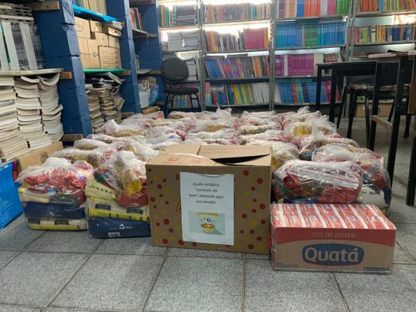 Os alimentos serão destinados aos familiares de ex-alunos do PROFESP