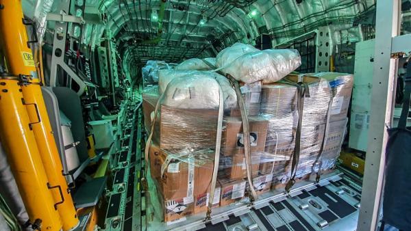 Os itens serão utilizados no combate ao novo Coronavírus na cidade de São Gabriel da Cachoeira (AM)