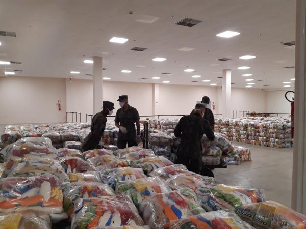 A ação foi solicitada pela Prefeitura de Salvador, que forneceu a listagem das pessoas cadastradas para receber a doação