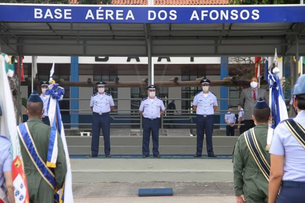 Solenidade celebrou o ocorrido em 12 de junho de 1931, quando militares da FAB partiram do Campo dos Afonsos rumo à cidade de São Paulo para uma histórica missão