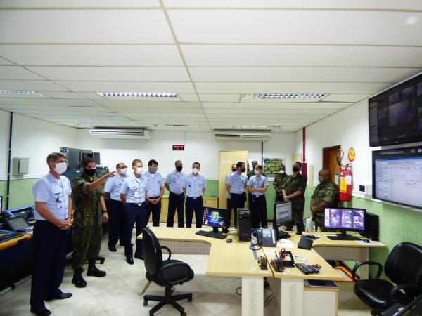 Oficiais-Generais conheceram a estrutura do local, além da funcionalidade e capacitação técnica operacional