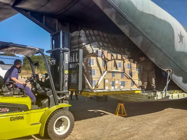 Os itens serão utilizados em apoio à Operação COVID-19