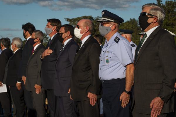 Solenidade realizada em Brasília (DF), nesta terça-feira (23), contou com a participação do Presidente da República, Jair Bolsonaro