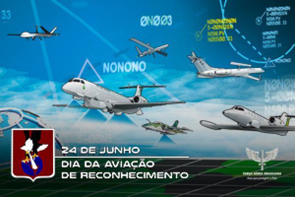 Vídeo celebra o Dia da Aviação de Reconhecimento, comemorado em 24 de junho