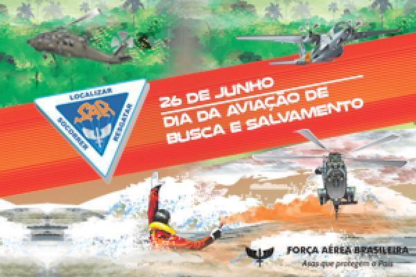 Vídeo celebra o Dia da Aviação de Busca e Salvamento, comemorado em 26 de junho