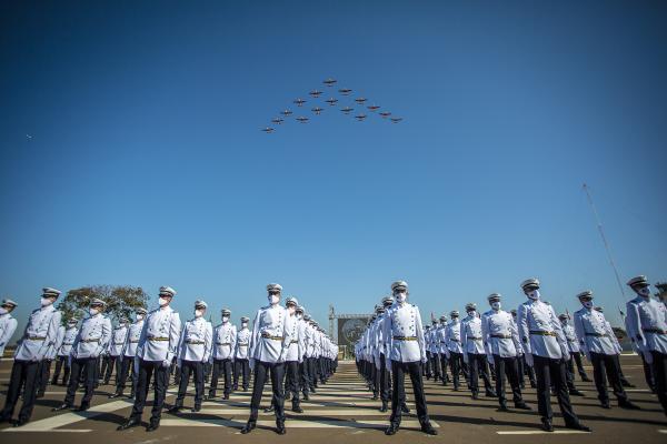 Tradicional cerimônia aconteceu com novo formato, em atenção às medidas de prevenção à COVID-19