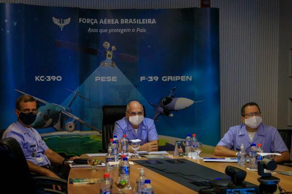 Encontro ocorreu nesta segunda-feira (13), em Brasília (DF), por meio de videoconferência