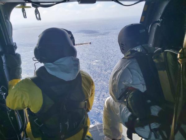 Missão foi realizada por tripulação do 1º/8º GAV – Esquadrão Falcão, nesta sexta-feira (24)