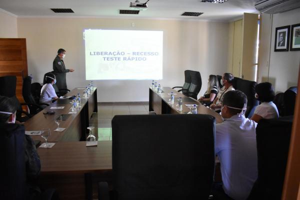 Os profissionais conheceram as ações e as medidas adotadas para o enfrentamento da COVID-19