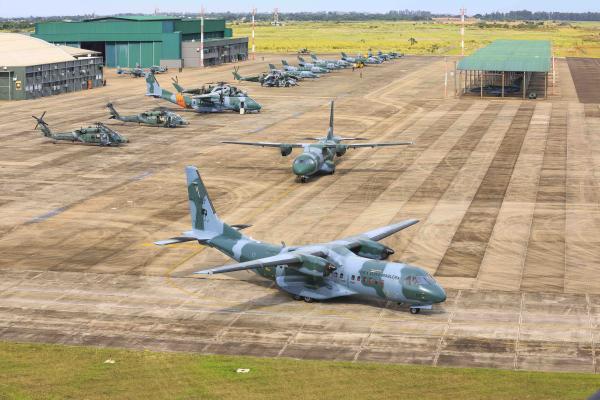 Treinamento é fundamental para a manutenção da operacionalidade da Força Aérea Brasileira