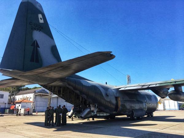 Missões de Combate a Incêndio em Voo e Transporte Aéreo Logístico ocorrem nas cidades de Campo Grande e Corumbá