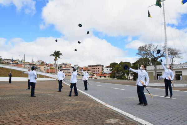 Novos militares realizaram estágios onde receberam instruções sobre vida militar, legislação e rotinas administrativas