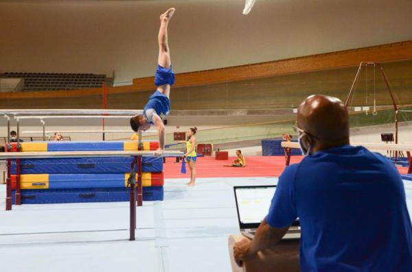 A fase de treino acontece em Portugal e é promovida pelo Comitê Olímpico Brasileiro (COB)