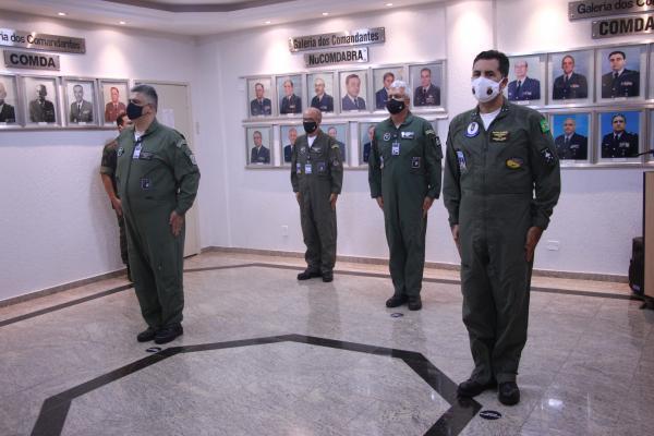Contra-Almirante Augusto José da Silva Fonseca Junior assume a Chefia do CCOI em substituição ao Coronel Aviador Elison Montagner