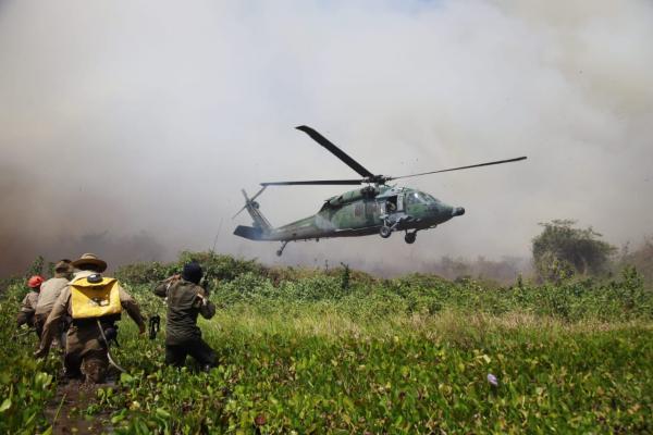 Missão foi realizada por tripulação do 5º/8º GAV – Esquadrão Pantera, nesta sexta-feira (14)