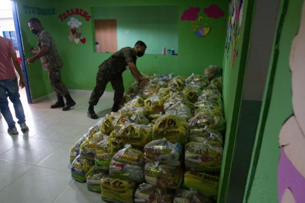 Ação foi realizada nas Organizações Militares da FAB por todo o País e ajudou 66 entidades filantrópicas