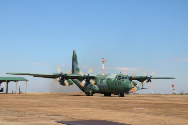 A Aviação de Transporte cumpre a tarefa de sustentação ao combate, fundamental nas missões de Guerra Irregular