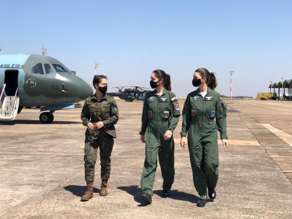 No EXOP Tápio, a atuação das mulheres foi fundamental para o sucesso das missões