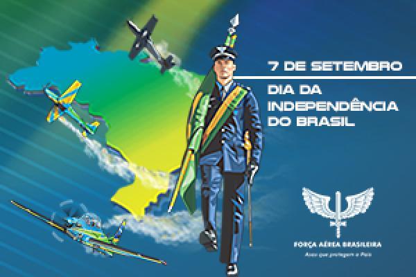 Comandante da Aeronáutica, Tenente-Brigadeiro do Ar Antonio Carlos Moretti Bermudez, envia mensagem em reverência aos 198 anos de Independência do Brasil