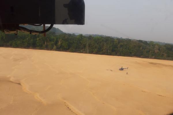 As técnicas foram usadas pelo Esquadrão Pelicano na busca de um helicóptero que havia decolado da cidade de Jacareacanga (PA) com destino a Itaituba (PA)