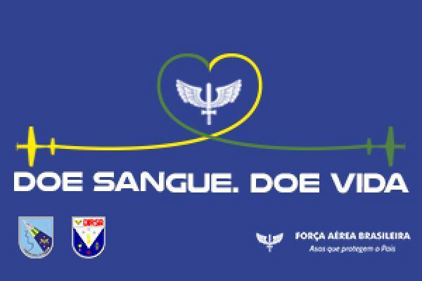 Militares, dependentes e civis das Organizações Militares de todo o País participaram da ação coordenada pela Diretoria de Saúde da Aeronáutica (DIRSA)