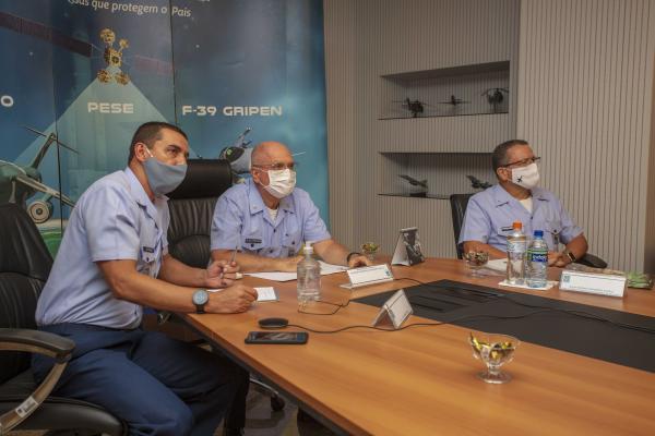 Reunião ocorreu na tarde desta terça-feira (22), no Comando da Aeronáutica, em Brasília (DF)