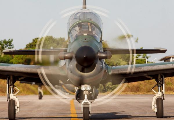 Unidade Aérea realiza diariamente patrulhamento das fronteiras da Região Norte do País