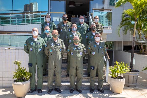 O Oficial-General palestrou nesta terça-feira (29), em Salvador (BA)