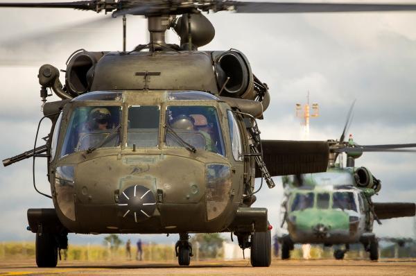 Esquadrão Harpia (7º/8º GAV) prestou socorro, com o H-60L Black Hawk, a um homem picado por Jararaca