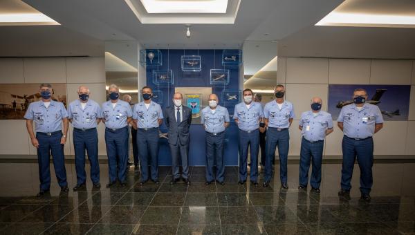 O encontro foi realizado nessa quarta-feira (7), no Comando da Aeronáutica, em Brasília (DF)
