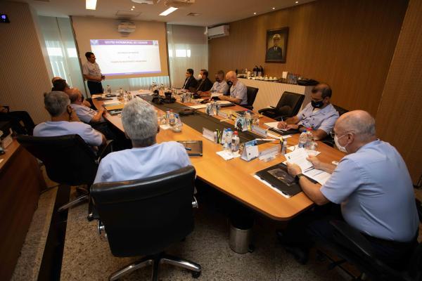 O encontro foi realizado nesta quarta-feira (7), em Brasília (DF)