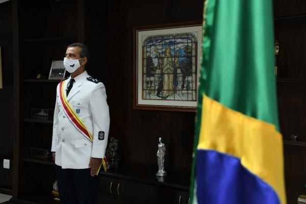 Solenidade foi realizada nesta segunda-feira (19). O militar tem 45 anos de serviço ativo na Força Aérea Brasileira