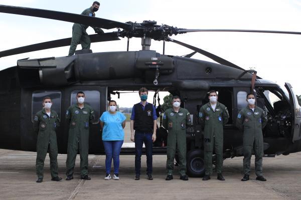 Ação foi realizada com o H60L Black Hawk em apoio ao Conselho Estadual do Meio Ambiente e Conselho Regional de Medicina Veterinária e Zootecnia do Mato Grosso do Sul (CRMV-MS)