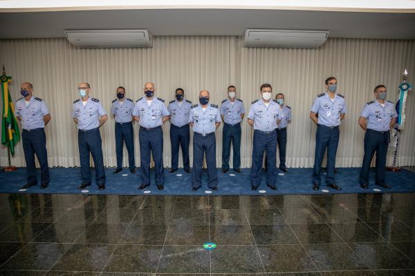 Cerimônia realizada em Brasília (DF), nesta quarta-feira (21), foi presidida pelo Comandante da Aeronáutica, Tenente-Brigadeiro Bermudez