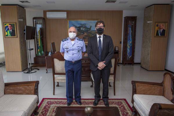 Encontro ocorreu nesta quarta-feira (21), no Comando da Aeronáutica, em Brasília (DF)