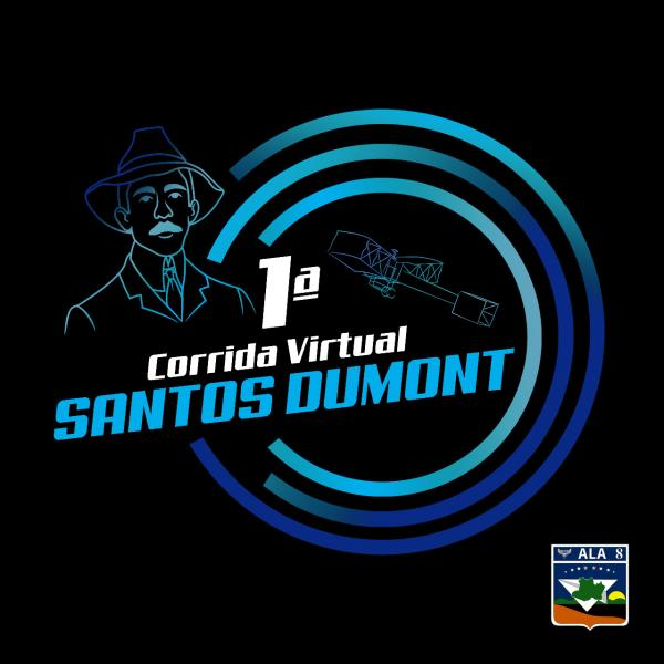 FAB promove a 1ª Corrida Virtual Santos-Dumont