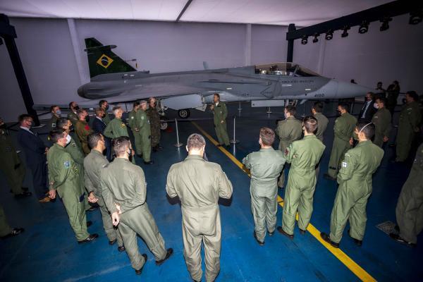 Abertura do evento foi realizada pelo Comandante da Aeronáutica, Tenente-Brigadeiro Bermudez