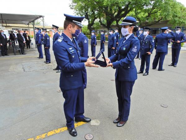 A cerimônia militar alusiva ao Dia Internacional do Controlador de Tráfego Aéreo faz parte dos eventos celebrados no mês da Asa