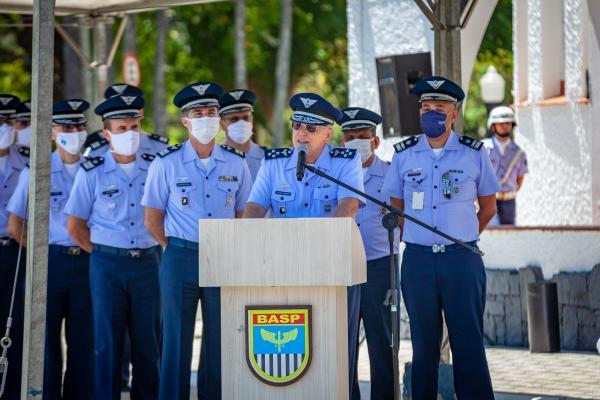 Comandante da Aeronáutica, Tenente-Brigadeiro Bermudez, presidiu a solenidade realizada nesta quarta-feira (28), na Base Aérea de São Paulo (BASP)