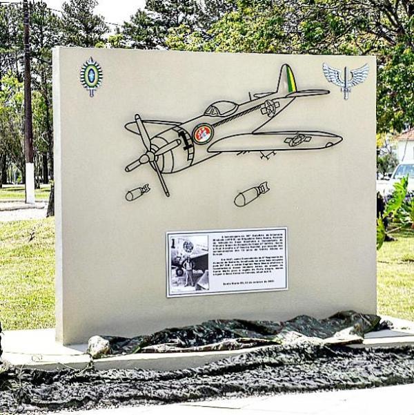 Patrono da Aviação de Caça Brasileira foi homenageado pelo 29° Batalhão de Infantaria