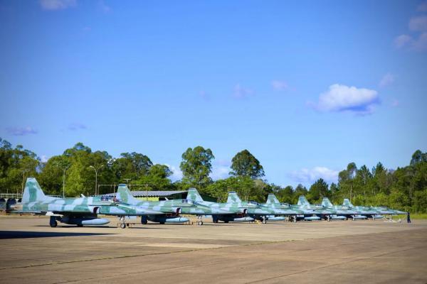 Treinamento envolve mais de 35 aeronaves e cerca de 400 militares de unidades da FAB de todo o país