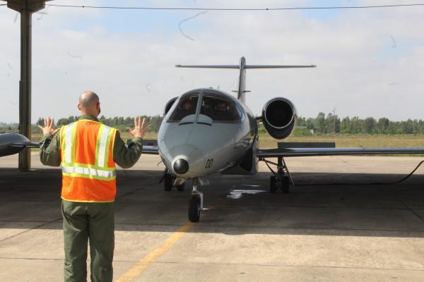 1º/6º GAV, Esquadrão Carcará, iniciou o processo de desativação da aeronave.