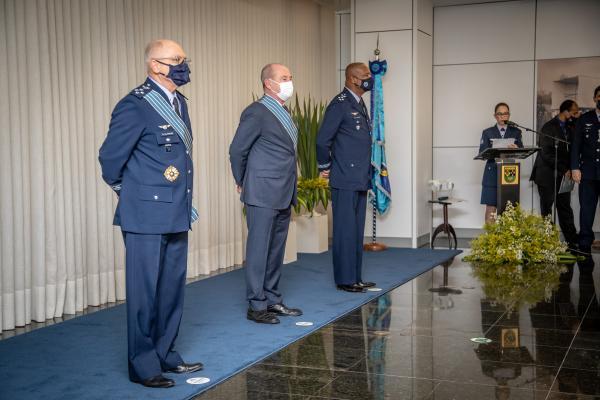 O evento foi presidido pelo Ministro da Defesa, Fernando Azevedo e Silva