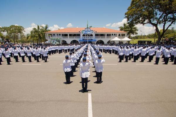 Cerimônia contou com a presença do Presidente da República, Jair Bolsonaro, e do Ministro da Defesa, Fernando Azevedo e Silva