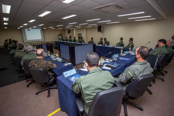 Evento tem como objetivo o intercâmbio de ideias entre representantes de diversas Organizações Militares da FAB subordinadas ao Comando de Preparo
