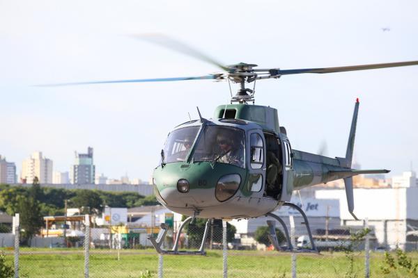 Parque de Material Aeronáutico entregou aeronave ao Esquadrão Gavião