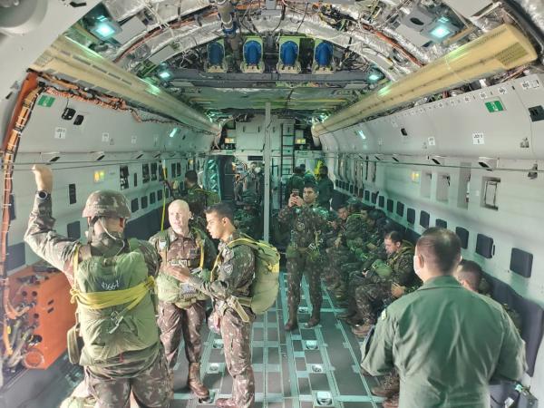 Esquadrão Zeus iniciou os treinamentos na aeronave KC-390Millennium para posteriormente participar do Exercício Operacional Culminating, nos EUA