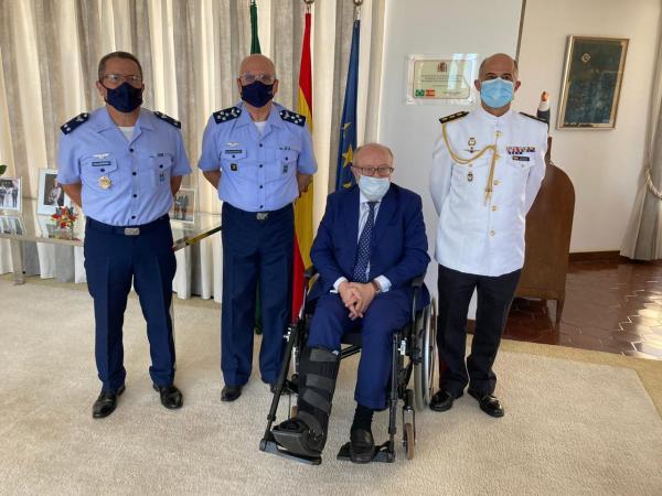 O encontro ocorreu nesta segunda-feira (14) na Embaixada da Espanha, em Brasília (DF)