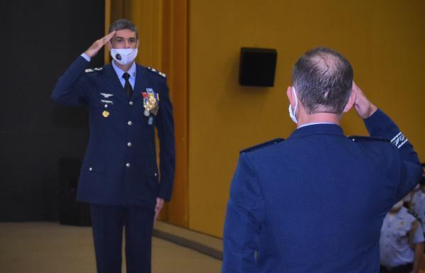 Coronel Aviador Marcelo Gobett Cardoso assume Comando em substituição ao Brigadeiro do Ar Ramiro Kirsch Pinheiro. Antes da cerimônia, foram inauguradas as salas de aula temáticas para o Curso de Formação de Oficiais Intendentes